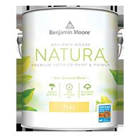 Benjamin Moore Natura — Flat